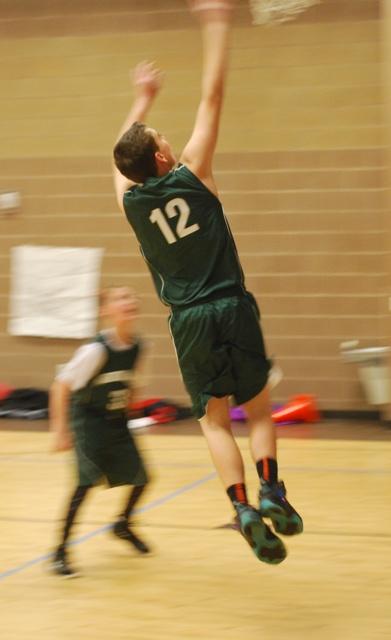 Trevan Winters Basketball team